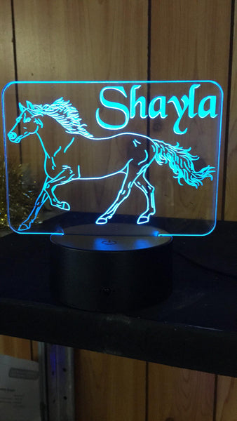 DesignaGlo USB/LED Horse light - designaglo