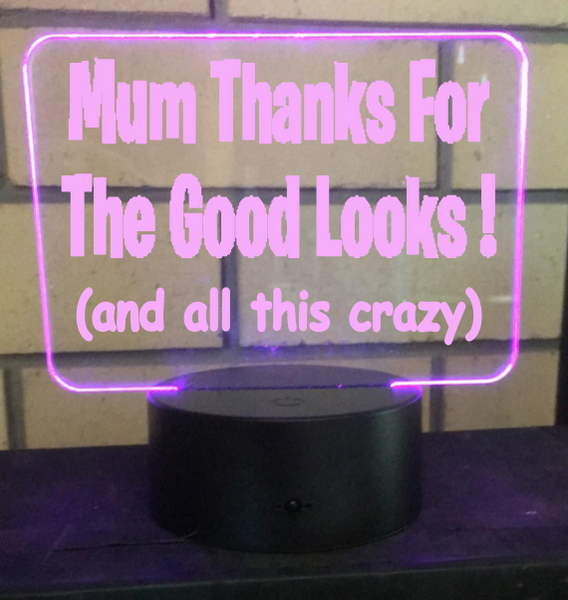 Mums Good Looks LED light - designaglo