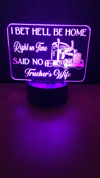 Trucker's Wife Desk Light LED - designaglo