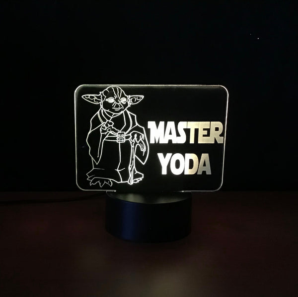 Yoda LED Desk light