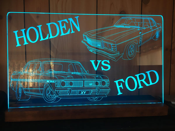 Holden vs Ford