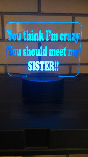 sister LED desk/Night light - designaglo
