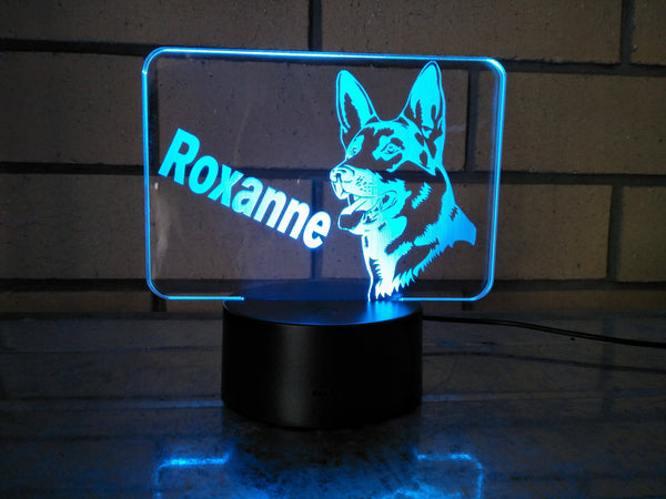 DesignaGlo USB/Battery dog desk light - designaglo
