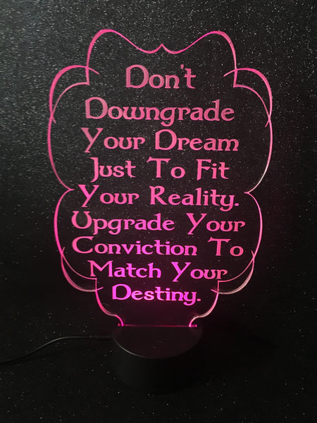 Don't Downgrade