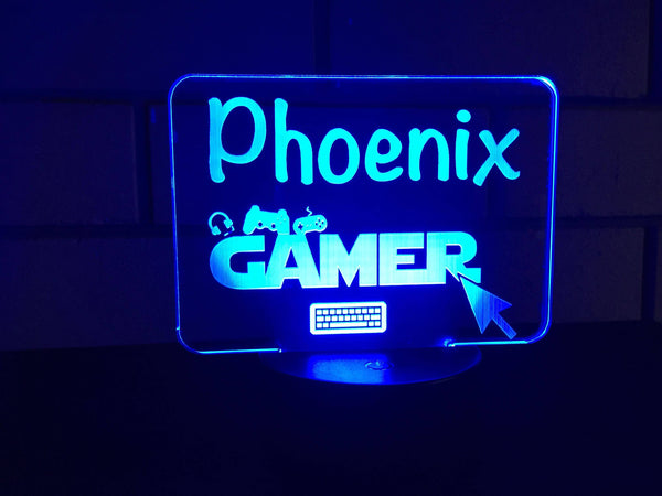 DesignaGlo Gamer LED desk/night light - designaglo