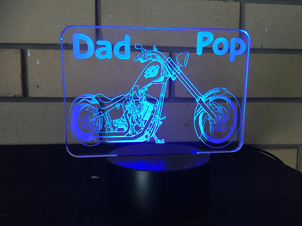 DesignaGlo harley LED desk/night light - designaglo