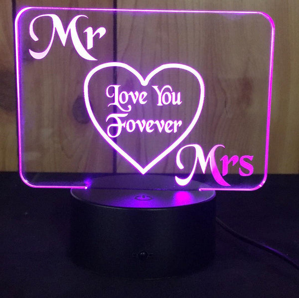 Mr & Mrs Desk light - designaglo