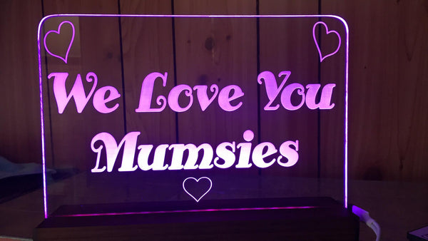 We Love Mum - designaglo