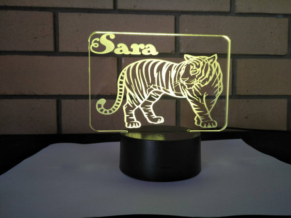 DesignaGlo Tiger desk light - designaglo