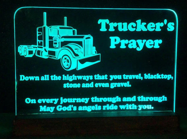 Truck  Prayer LED light - designaglo