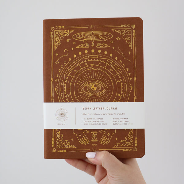 Magic of I - Journal Brown