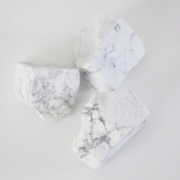 White Howlite Raw