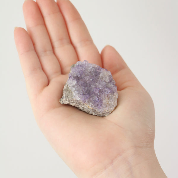 Purple Fluorite - Natural cluster