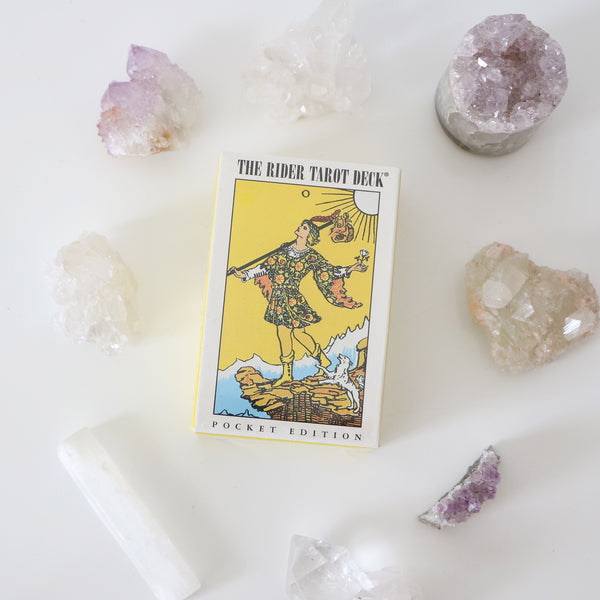 The Rider Tarot Deck - Classic Pocket Edition