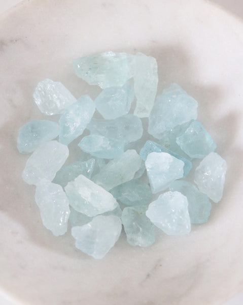Aquamarine - Raw (2 pieces)