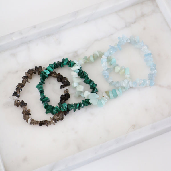 Gemstone Bracelet Collection II