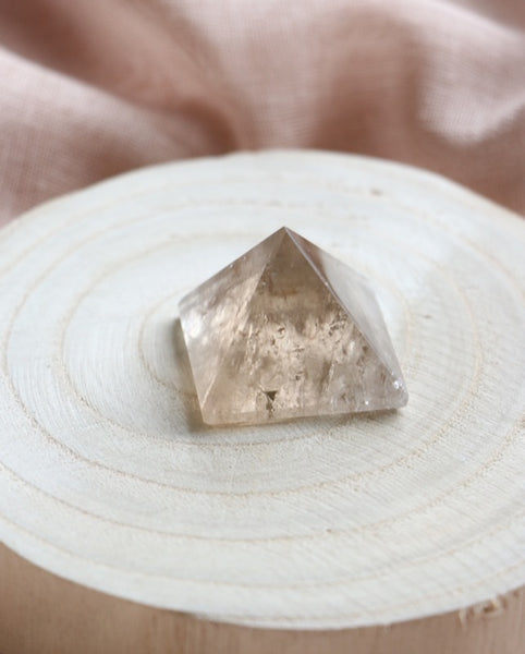 Smoky Quartz Pyramid