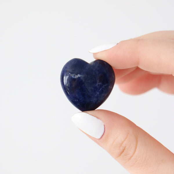 Sodalite Hearts - Mini