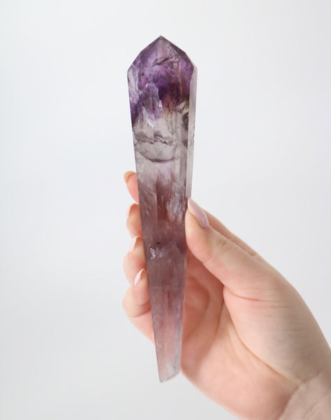 Amethyst Elestial Point - Polished