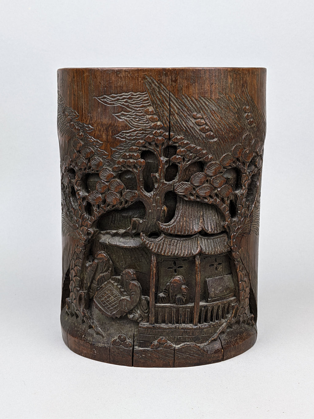 19th C Bamboo Bitong