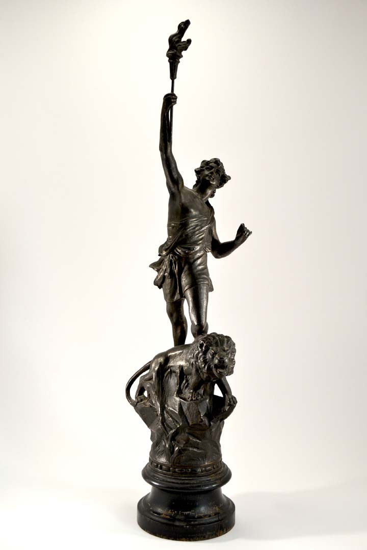 French Art Nouveau Spelter Figure
