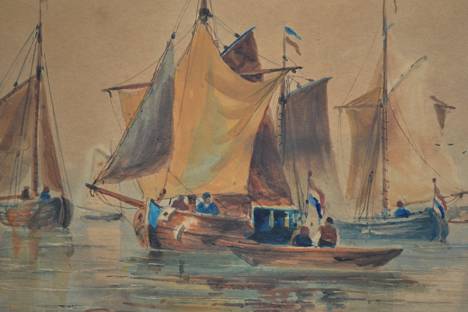 Watercolour by Thomas Bush Hardy