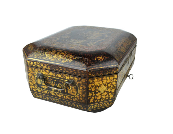 Antique Chinese Sewing Box