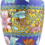 Vintage Chinese Cloisonne Vases