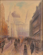St Paul's Cathedral Watercolour
