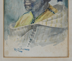 Portrait of a Moor