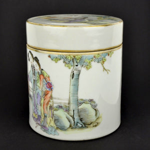 Republic Period Lidded Container