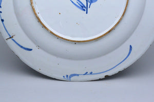 Large 18th Century Delft Plate