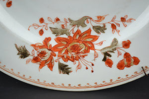 18th Century Blood and Milk Export Plate