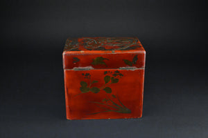 Japanese Vintage Lacquer Tea Caddy