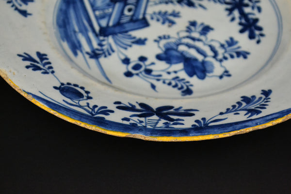 18th Century Dutch Delft Plate