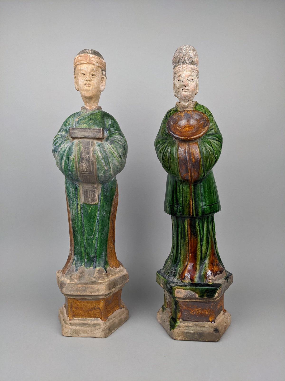 Ming Dynasty Temple Attendants