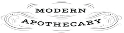 Modern Apothecary Logo, All Natural, Organic, Healthy Products