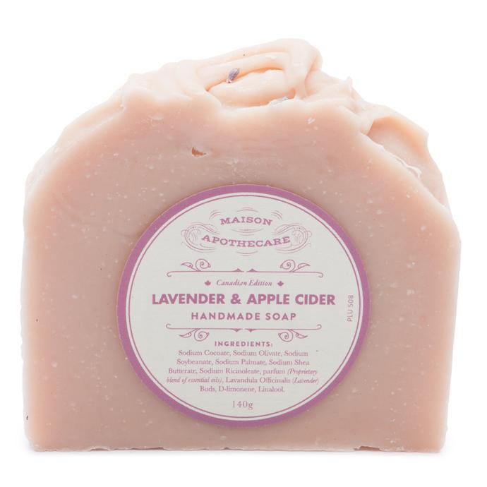 Handmade Soap Bar - Lavender & Apple Cider