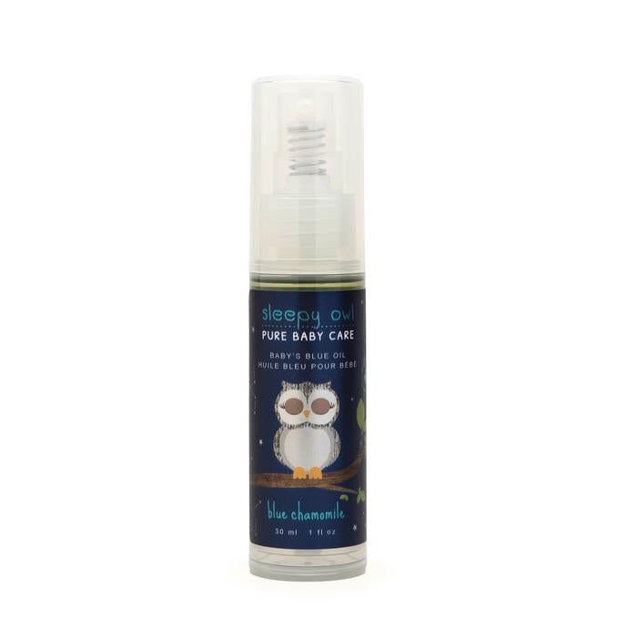 Sleepy Owl - Soothing Baby's Blue Oil