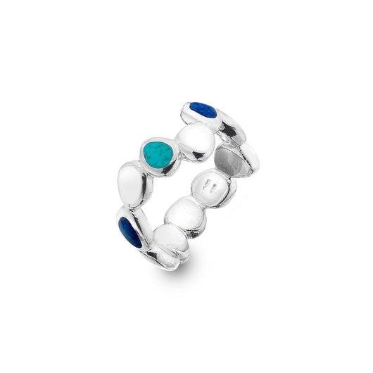 Pebble stream ring