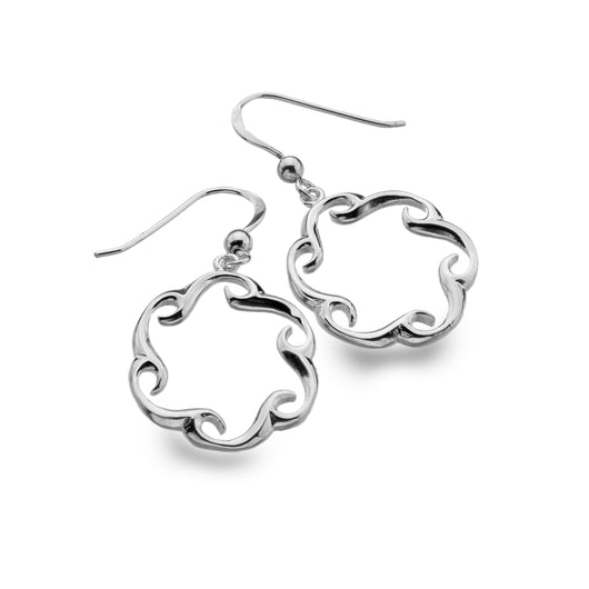 Circular Wave Earrings