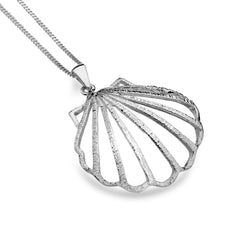 Large Scallop Shell Pendant