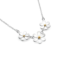 Daisy Cluster Necklace