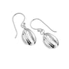 Tropical Cowrie Shell Earrings