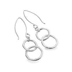 Organic loop earrings