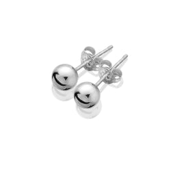 Classic Silver Ball Studs