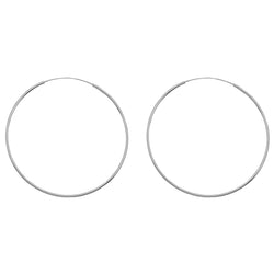 Extra Large Simple Hoops