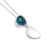Paua Shell Pebble Pendant