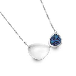 Paua shell rockpool necklace
