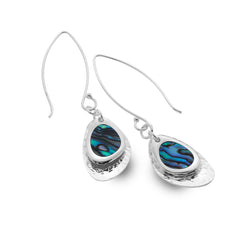 Paua shell cove rockpool earrings